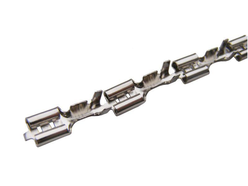 BUKSNA NEIZOLOVANA ŽENSKA 1 - 2,5mm2 6,3 NIKLOVANA CN 1201.1